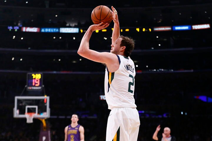 QA: Joe Ingles keeps climbing the Jazz's 3-point leaderboard but he doesn't consider himself a shooter