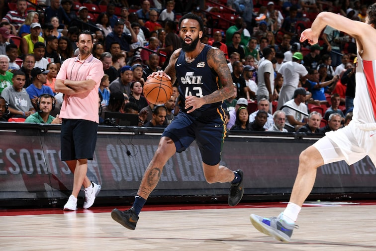 2019 Las Vegas Summer League - Utah Jazz v Houston Rockets