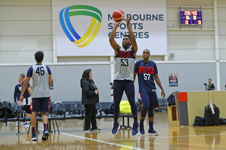 USA Basketball Mens National Team Practice - Australia