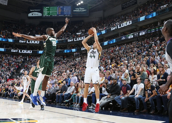 How Utah Jazz forward Bojan Bogdanovic helped draw up his game-winning 3-pointer versus Milwaukee