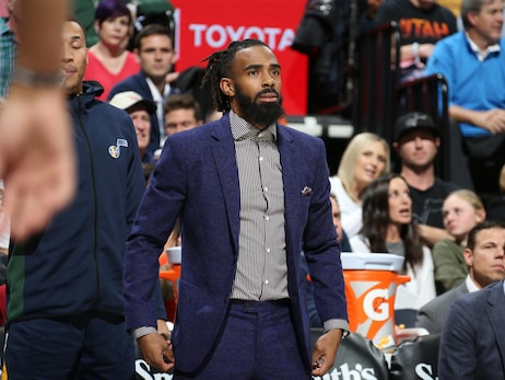 Utah Jazz point guard Mike Conley could return from hamstring injury this week