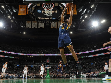 Tony Bradley's patience and hard work has the Utah Jazz center playing the best basketball of his young career