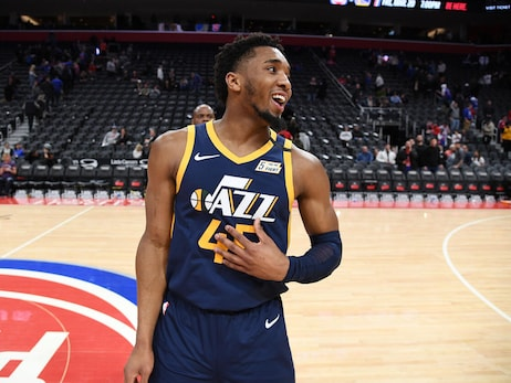 Utah Jazz All-Star Donovan Mitchell updates fans on his COVID-19 diagnosis