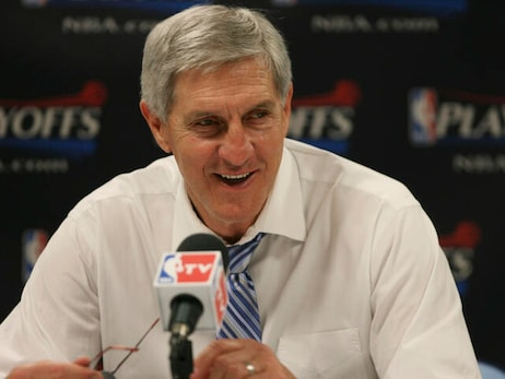 The basketball world pays tribute to the late Jerry Sloan