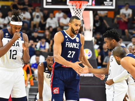 Rudy Gobert and France knock Donovan Mitchell, Team USA out of World Cup medal contention
