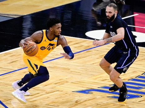 Donovan Mitchell takes over in the second half to lead the Utah Jazz past the Magic