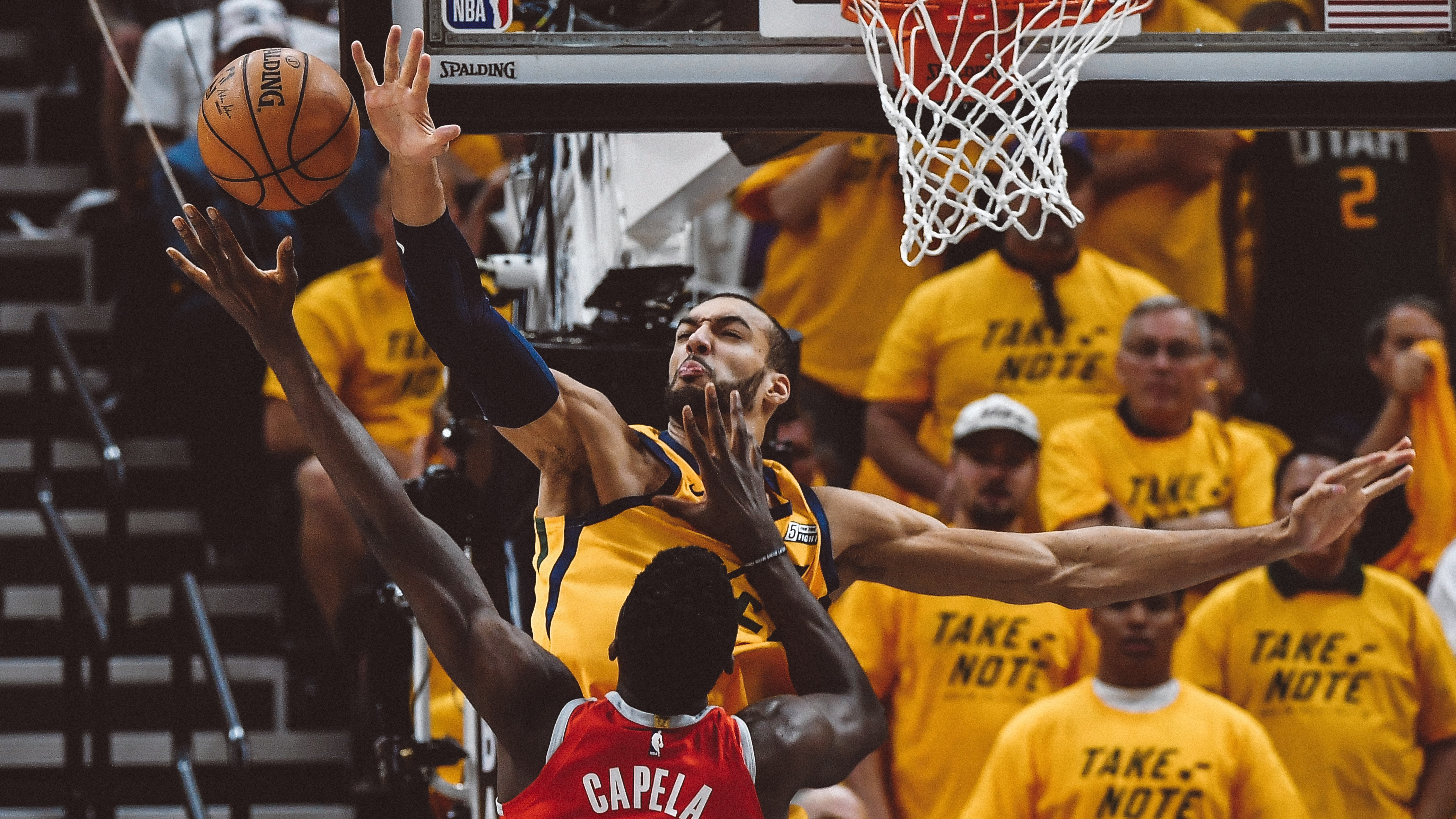 Rudy Gobert Selected to NBA All-Defensive First Team