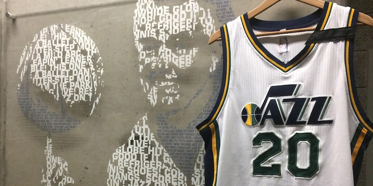 Jazz to Honor Hot Rod Hundley with Jersey Stripe