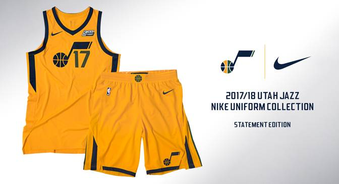 huge selection of b5d8f 0fdd8 Jazz Reveal Statement Edition Uniform | Utah Jazz
