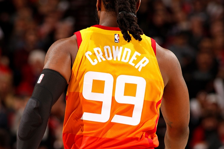 Jae Crowder—Making a strong first impression for the Jazz ...