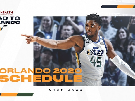 Utah Jazz reveal schedule for the NBA's regular season return in Orlando