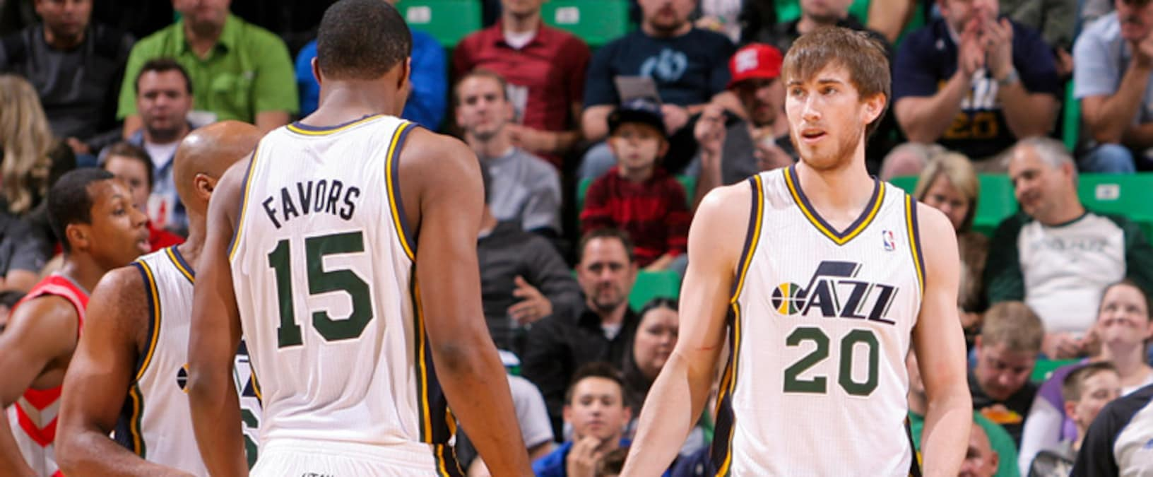 Derrick Favors And Gordon Hayward Invited To Participate In 2013 Usa Basketball Men S National Team Mini Camp Utah Jazz