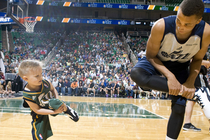 Five-Year-Old JP Gibson Plays for Jazz