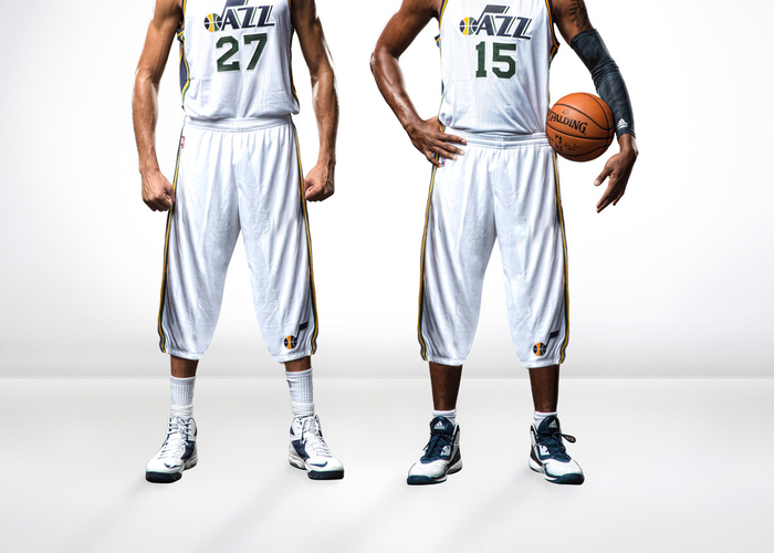 2a54e668b Jazz Enhance On-Court Look for 2015-16 Season