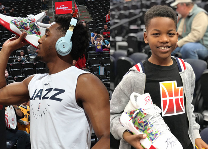 The faces and stories behind Donovan Mitchell's pregame