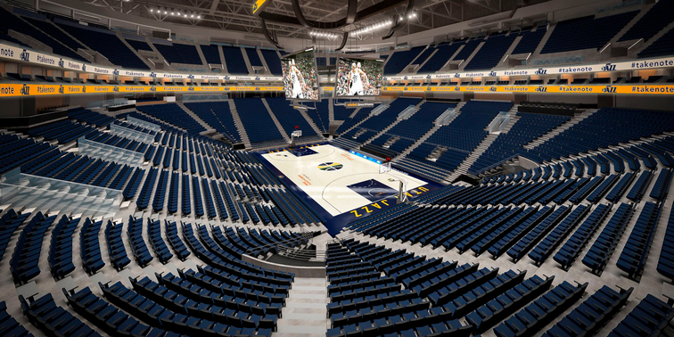 Ticketmaster Selected As Exclusive Ticketing Partner For Utah Jazz Vivint Smart Home Arena