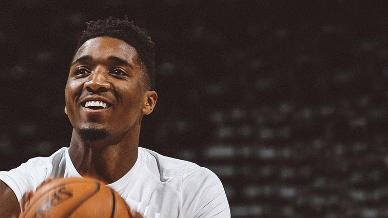 e77a1eaf7 Donovan Mitchell Named Western Conference Rookie of the Month for March and  April