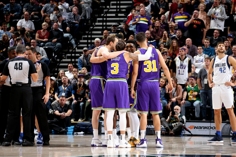 Classic connections  40th-season bridges past and present for Utah Jazz  players 09bb1283b