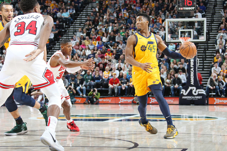 106a53ec1159 Donovan Mitchell named NBA s Western Conference Player of the Week ...