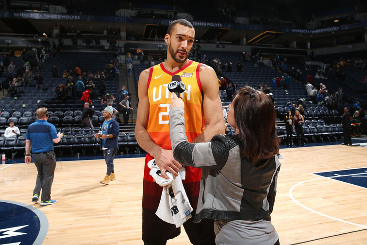 8c6c6db0f80 Utah Jazz center Rudy Gobert feels  disrespected  after being left off NBA  All-Star roster