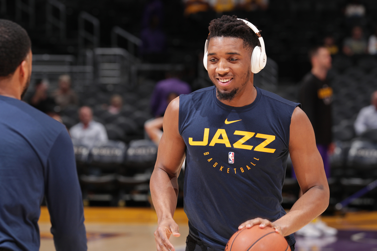 b2d73764f30 Donovan Mitchell to attend 2019 USA Basketball Men's National Team training  camp. Jazz guard among 20 players ...