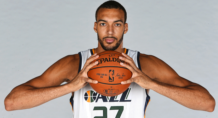 sports shoes 79ee6 d0f01 Jazz Sign Rudy Gobert to Multi-Year Contract Extension