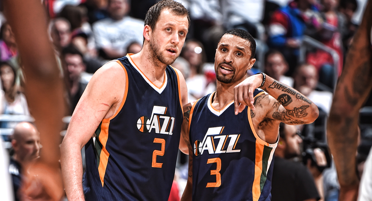 Jazz center Rudy Gobert injures knee seconds into first playoff game
