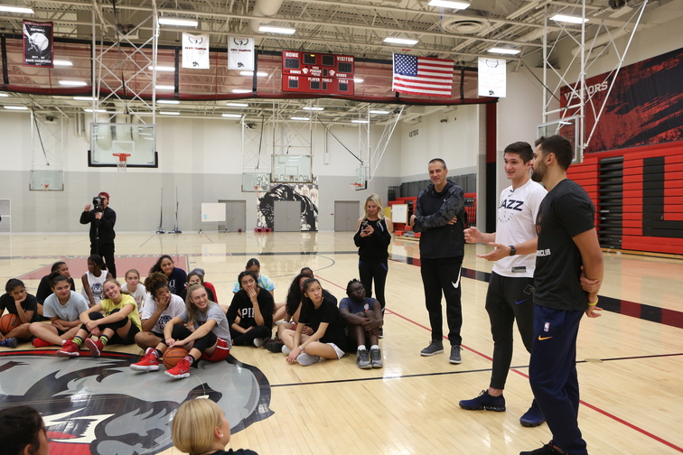 9b3690103db9 Utah Jazz Camps and Clinics provide  elite  learning environment for young  athletes