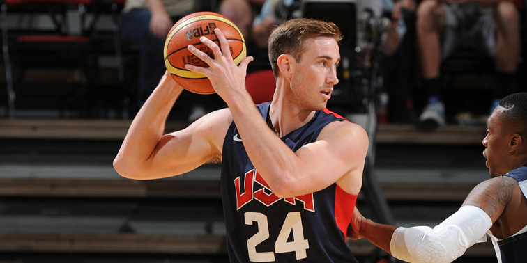 Jazz's Hayward Named Finalist for 2014 USA Men's World Cup Team