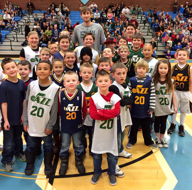 886907bdefbe NBA Selects Junior Jazz as Best Youth Program