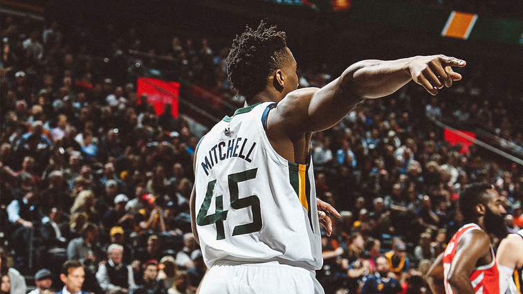c5f8b67c0 Donovan Mitchell Named Western Conference Rookie of the Month for February