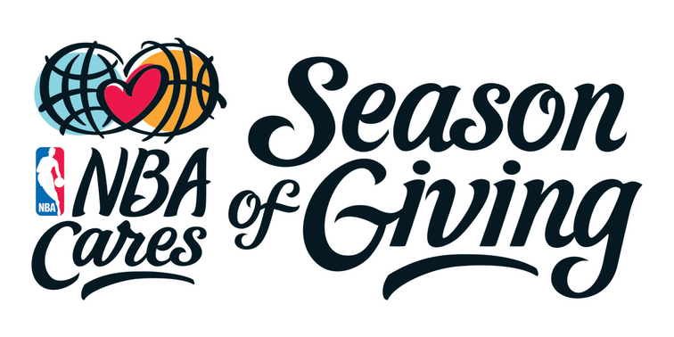 NBA Cares Season of Giving
