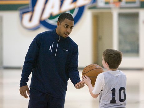 Johnnie Bryant to Represent Utah Jazz at First Basketball Without Borders Camp in Angola