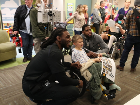 Annual trip to Primary Children's Hospital 'put things in perspective' for the Utah Jazz