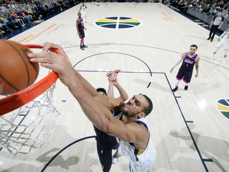 Rudy Gobert named NBA's Western Conference Player of the Week