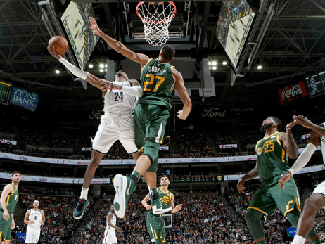 The Roundup—Nets no match for Gobert, Favors as Jazz roll at home