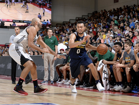 Drafted, stashed, but not forgotten: Nigel Williams-Goss kept close contact with the Utah Jazz during two seasons abroad