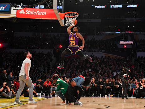 Donovan Mitchell says he won't participate in this year's Slam Dunk Contest