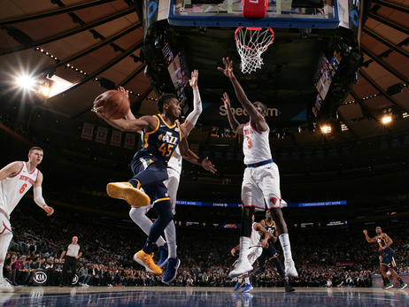 Photos: Jazz 101, Knicks 106