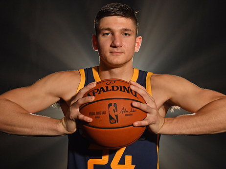 Grayson Allen: 2018 NBA rookie photo shoot