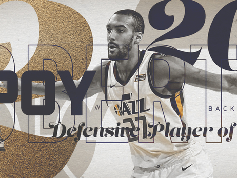Rudy Gobert named NBA's Defensive Player of the Year for the second season in a row