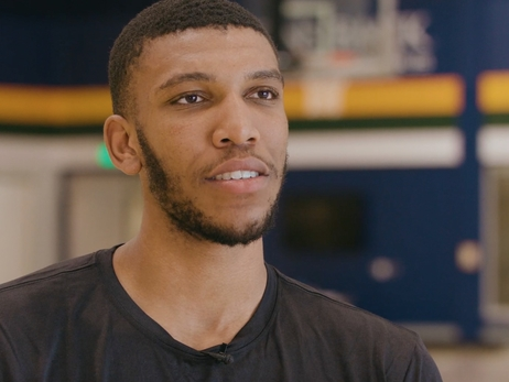 Tony Bradley keeps big picture in mind as he eyes a bigger role in the NBA