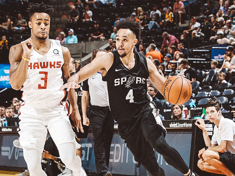 Spurs cruise past Hawks at the Utah Jazz Summer League