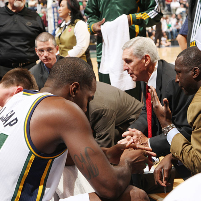 Jazz to Honor Coach Sloan