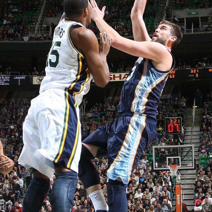 Jazz 86, Grizzlies 99