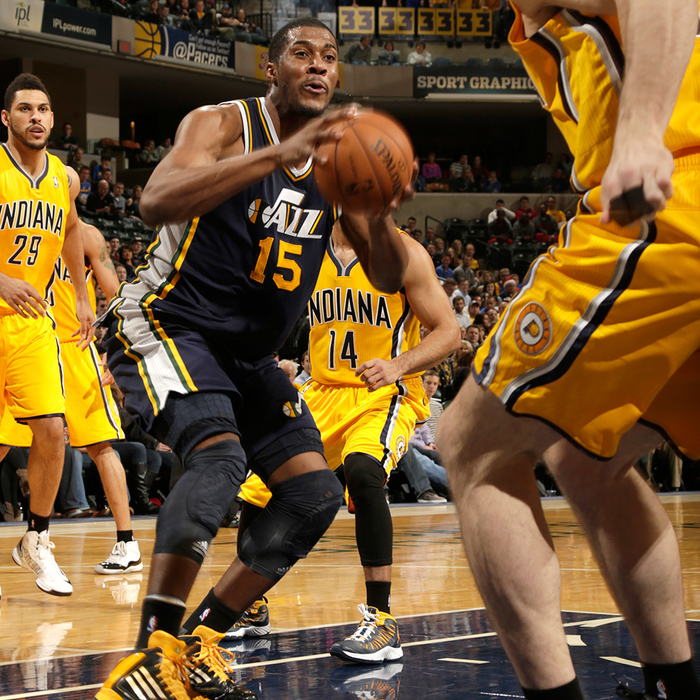 Jazz 84, Pacers 104