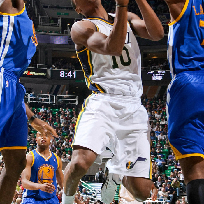 Jazz 115, Warriors 101