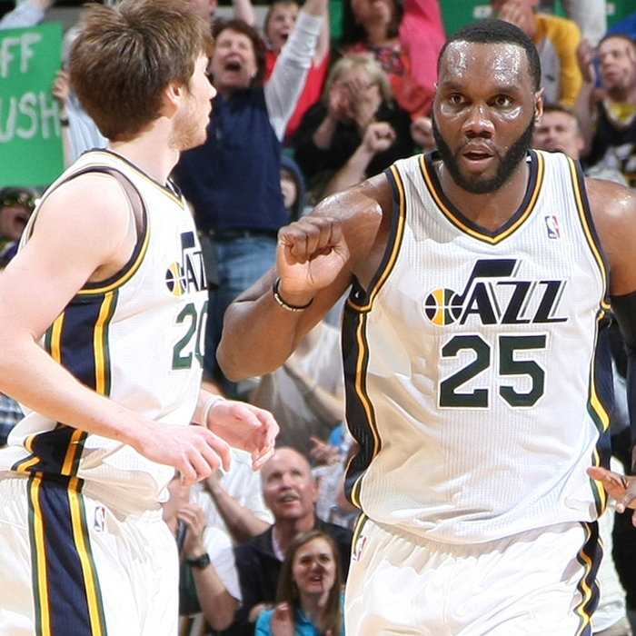 Jazz 107, Timberwolves 100