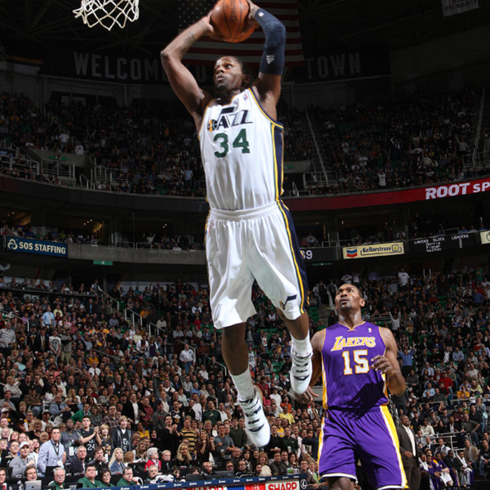 Jazz 87, Lakers 90 (OT)