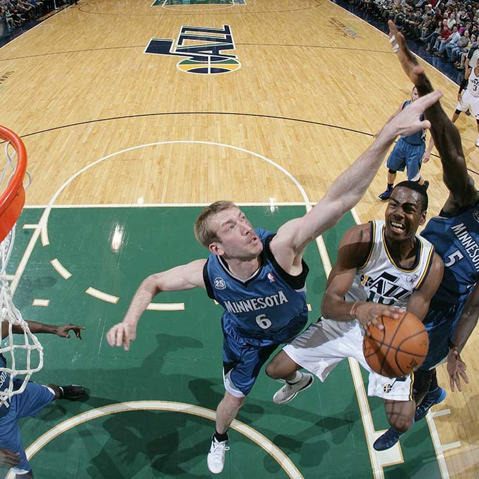 Jazz 104, Timberwolves 121